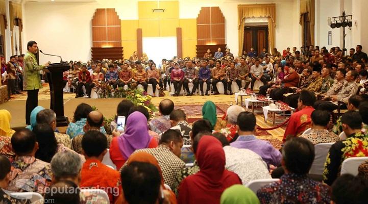 Sambutan Menpan<BR>Penyerahan LHE SAKIP Prop Jatim, Sulsel, Sultra, Sulut dan Gorontalo